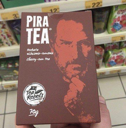 Steve Jobs'un bu çay paketinde ne işi var?