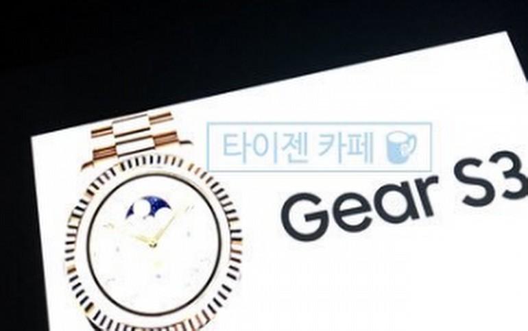 Samsung Gear S3 ortaya çıkıyor!