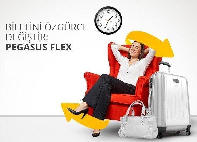 Uçak biletini alırken Flex  avantajına dikkat
