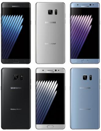 Rusya'dan Samsung Galaxy Note 7 sürpizi!