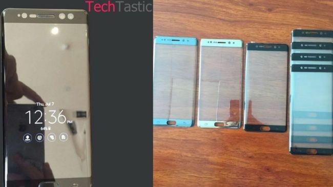 Galaxy Note 7'nin Always on Display işlevi göründü!