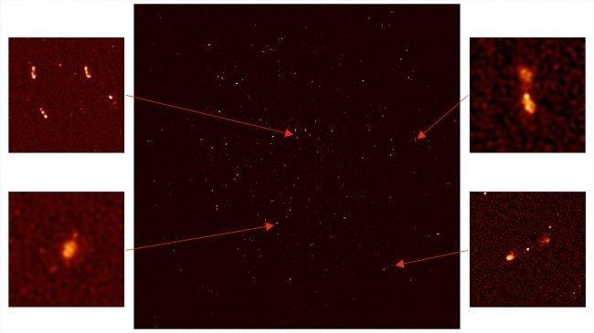 Yüzlerce yeni galaksi keşfedildi!