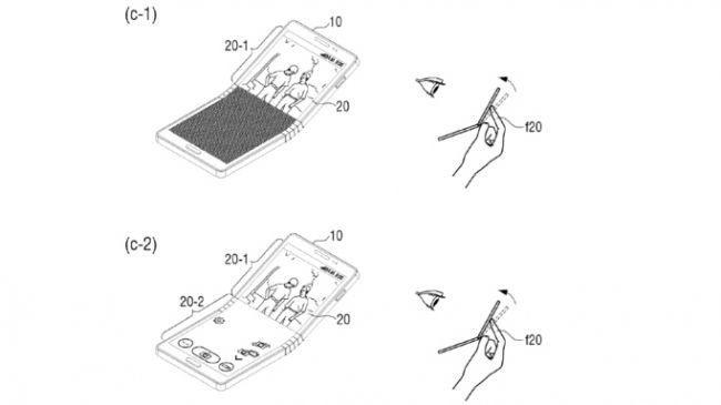 Samsung'dan katlanan ekranlar için önemli adım