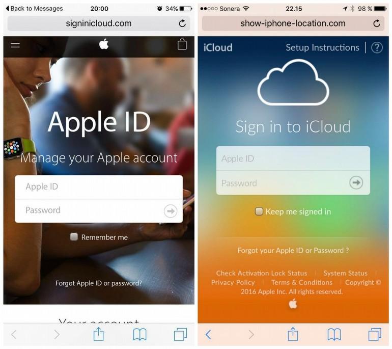 Kayıp iPhone'u ararken, Apple ID'den olmayın!