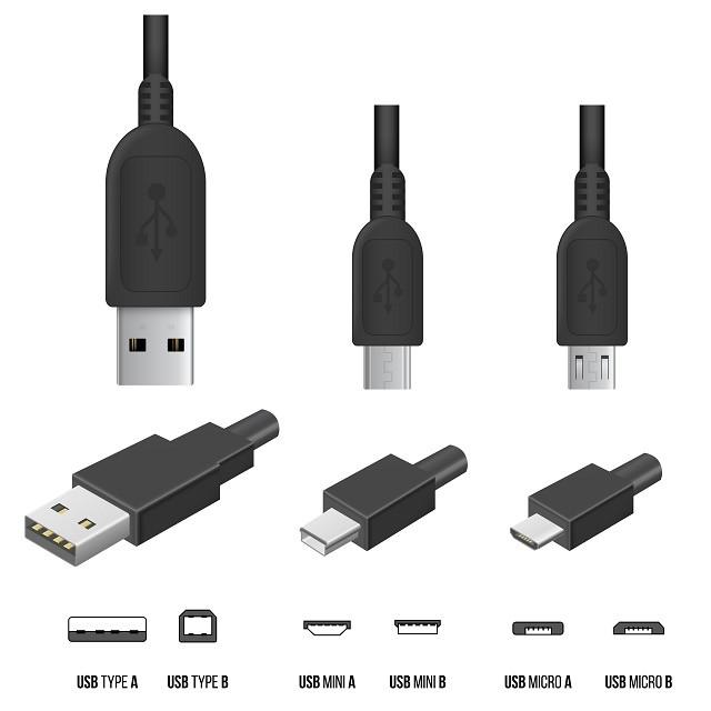 Farklı USB türleri