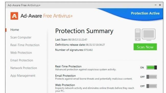 4. Ad-Aware Free Anti-Virus+