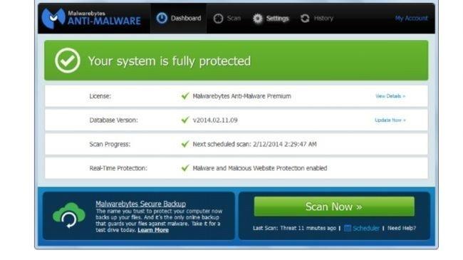 5. MalwareBytes Anti-Malware