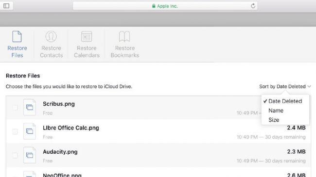 iPhone'dan silnen dosya iCloud'dan nasıl kurtarılır?