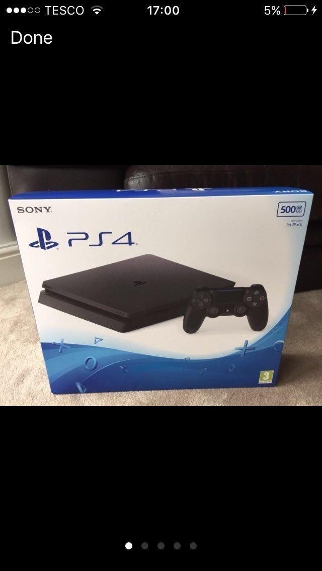 PlayStation 4 Slim yine göründü!