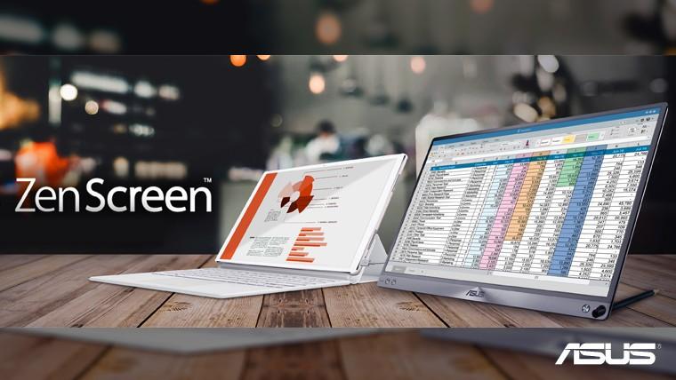 ZenScreen: Laptop'unuz için 15,6 inç'lik taşınır ekran