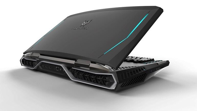 IFA 2016: Çift GTX 1080'li oyun laptop'u Predator 21 X!