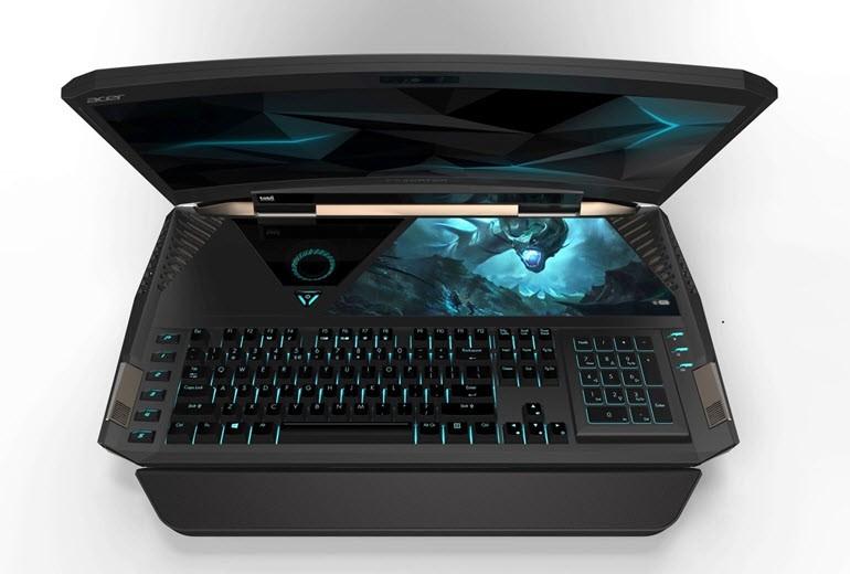 Acer'dan çift GTX 1080'li oyun laptop'u Predator 21 X