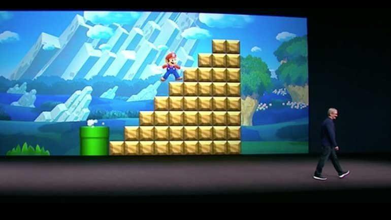 Süper Mario, App Store'da!