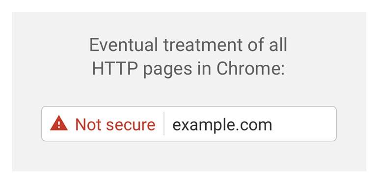 """Chrome'dan güvensiz sitelere """"güvensiz"""" damgası!"""