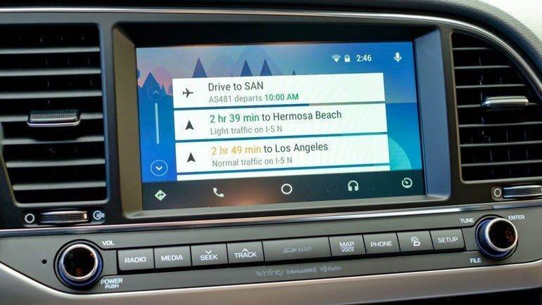 android auto 39 yu derinlemesine test ettik chip online. Black Bedroom Furniture Sets. Home Design Ideas