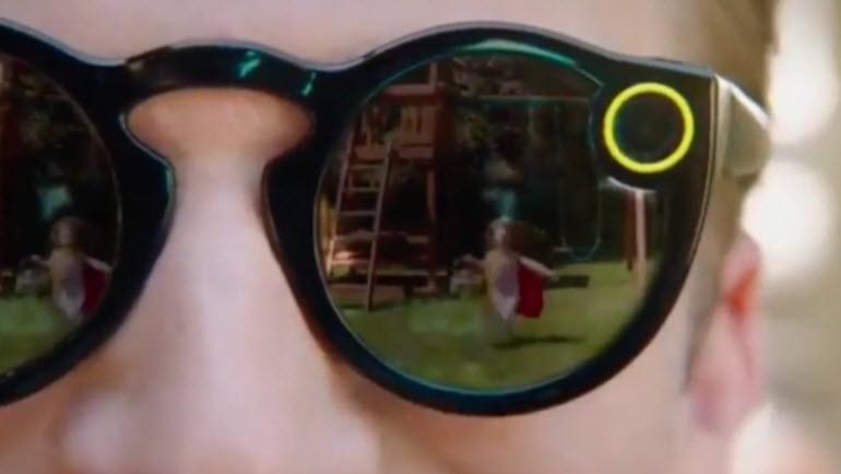 İşte Snapchat'in yeni gözlüğü Spectacles!
