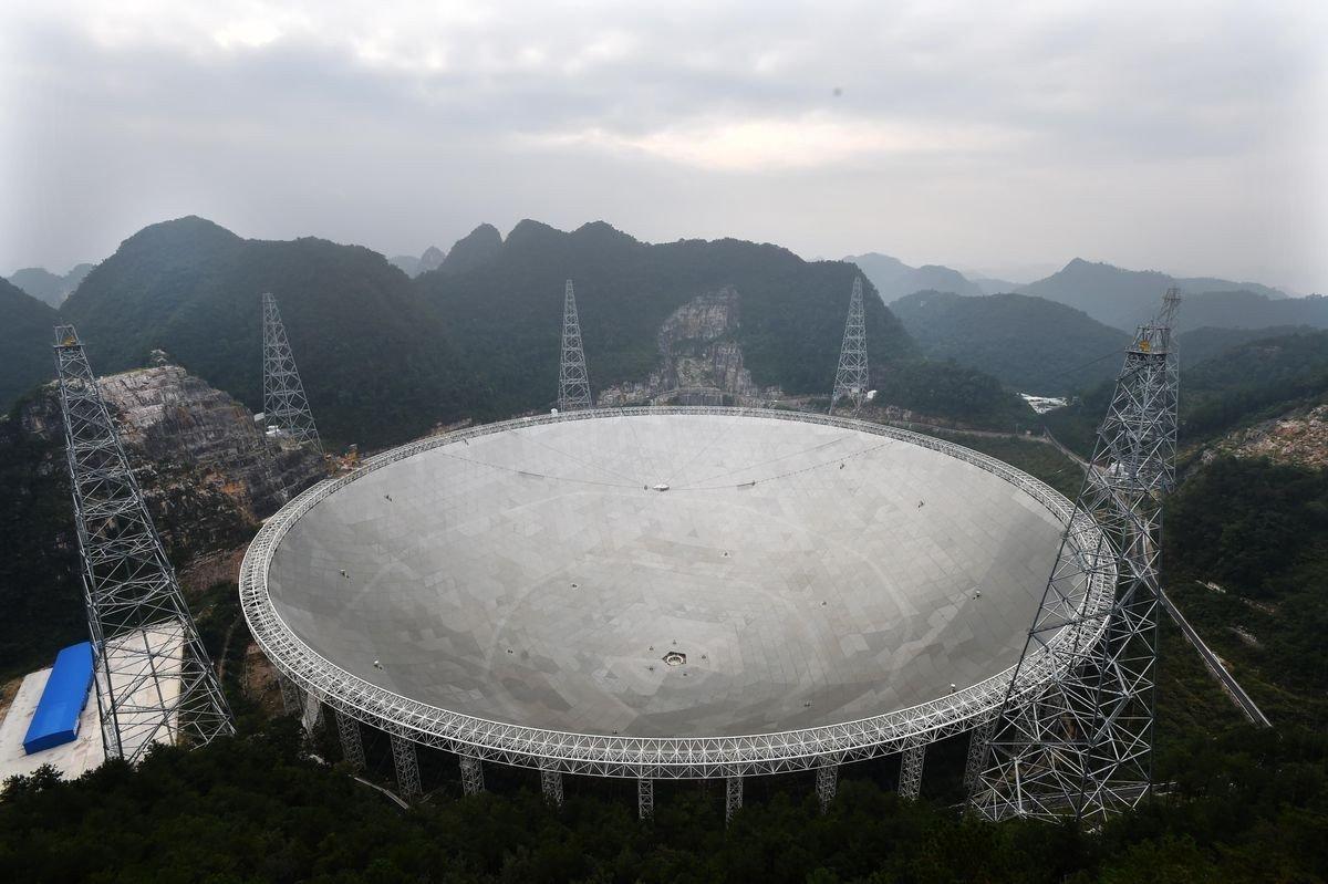 Çin, dev radyo teleskobu çalıştırmaya başladı!