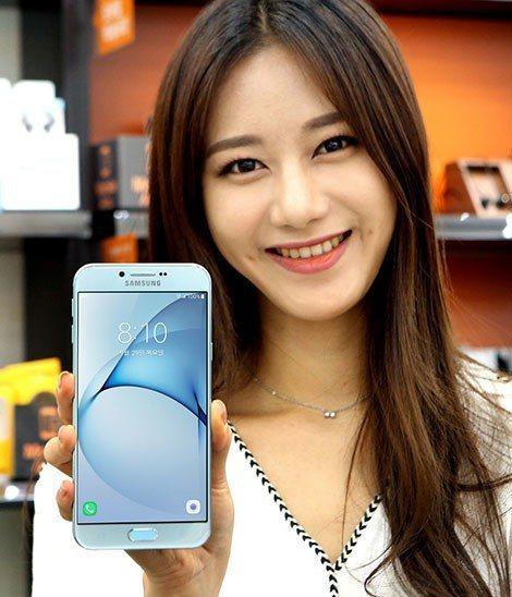 Samsung en yeni Galaxy A8'i görücüye çıkardı!