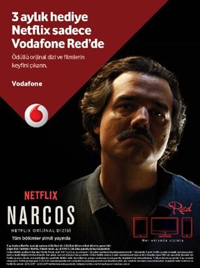 Vodafone Red'lilere Netflix desteği