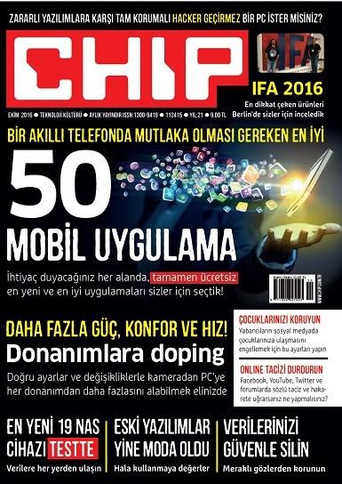 CHIP Ekim 2016