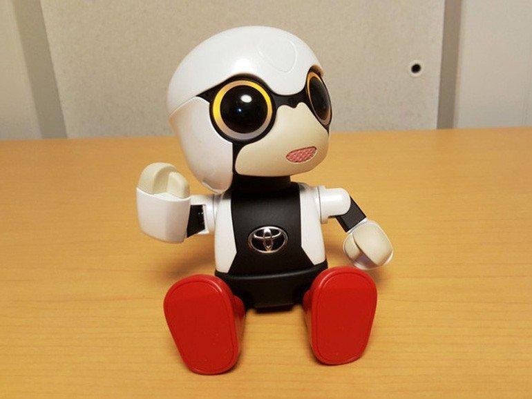İşte Toyota'nın minik robotu Kirobo Mini