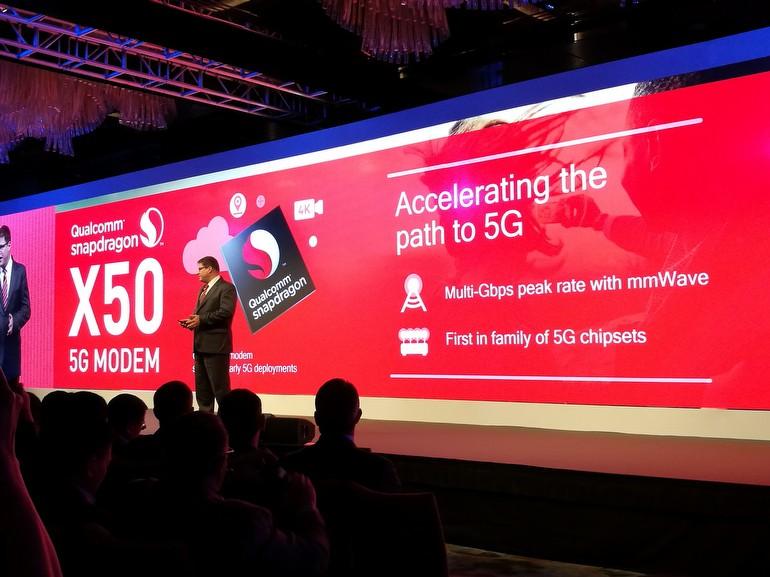 Dünyanın ilk 5G modemiyle Qualcomm liderliği ele alıyor