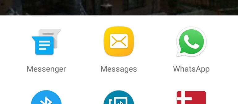 SMS İle Konum Paylaşma