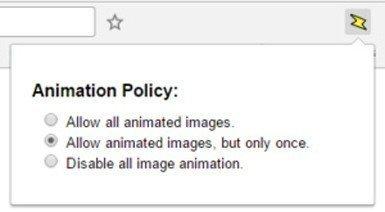Animation Policy: GIF'leri, Chrome'la Durdurun