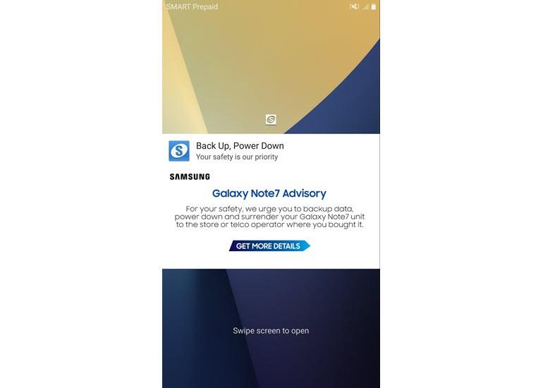 Galaxy Note 5'te Note 7'nin Güvenlik Uyarısı Göründü!