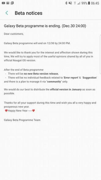 Galaxy S7 ve S7 edge İçin Resmi Açıklama da Geldi!