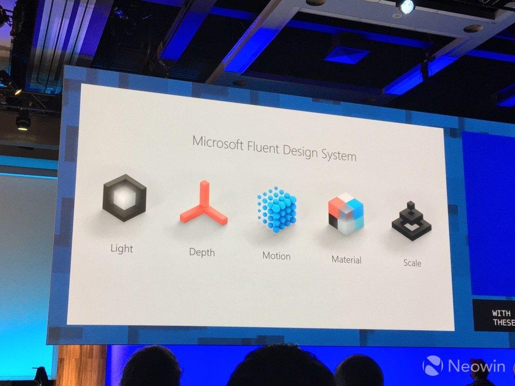 Windows 10 Fluent Design System Ortaya Çıktı!