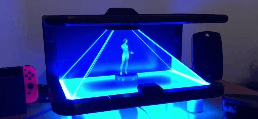 Cortana'yı Hologram ile Hayata Getirdiler