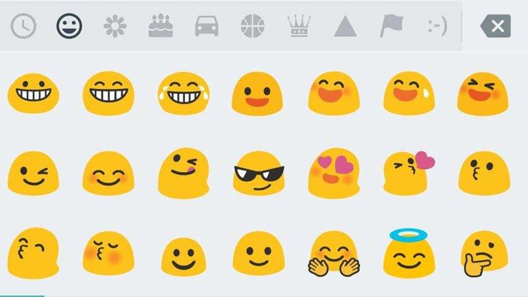 Google'ın Emoji'leri, Android O ile Yenileniyor!