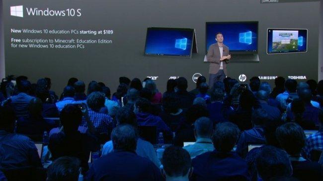 Microsoft'tan İddialı Windows 10 S Açıklaması!