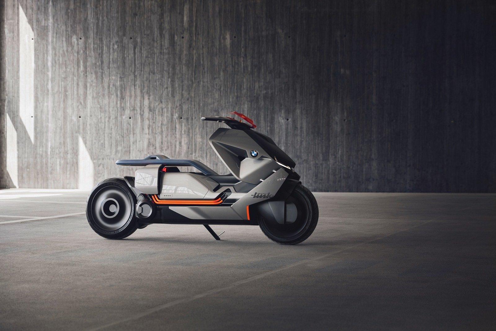 BMW'den Fütüristik Teknolojilere Sahip Motosiklet