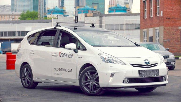 Rus İnternet Devi Yandex, Sürücüsüz Aracını Gösterdi