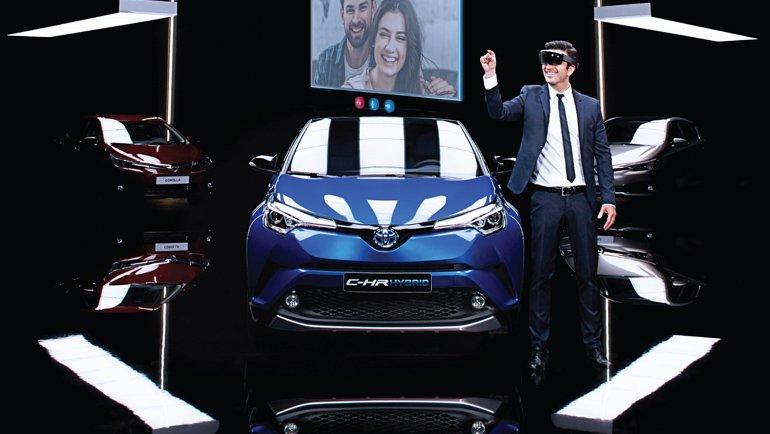 Toyota'nın İnteraktif Showroom'una Büyük İlgi