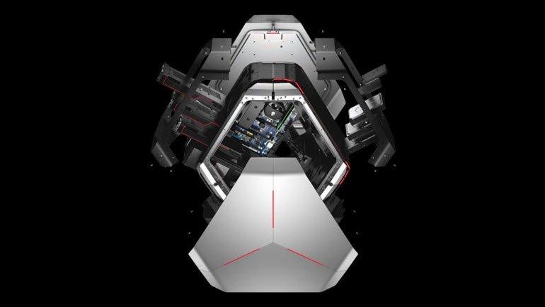 Alienware Area 51 tam bir performans canavarı