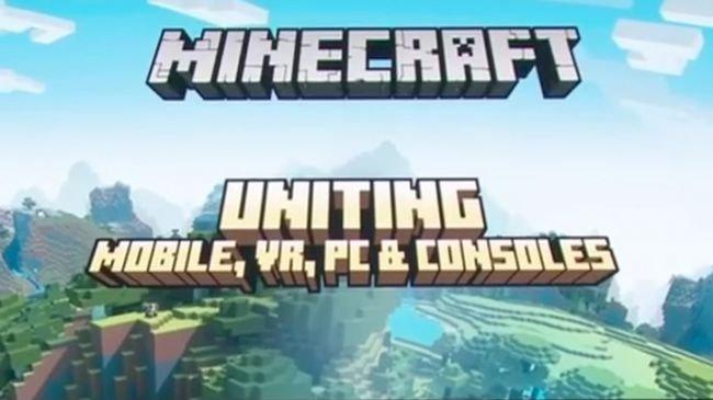 Minecraft crossplay güncellemesi