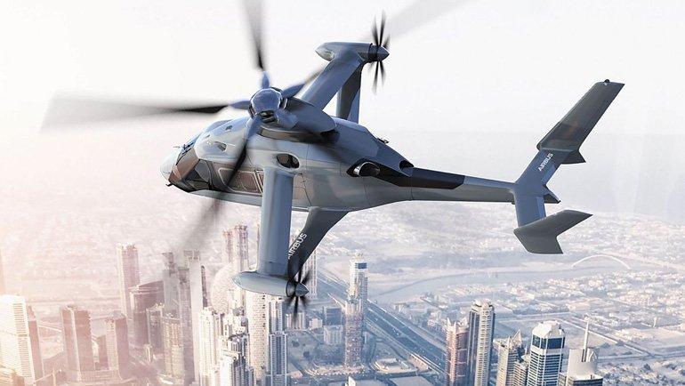 Airbus'ın Yeni Helikopter Konsepti Dudak Uçuklattı!