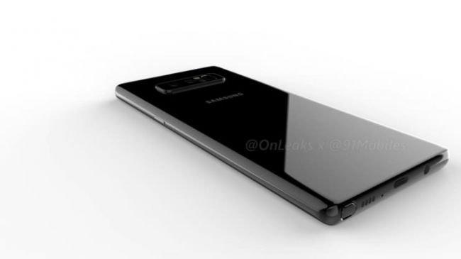Yeni Galaxy Note 8 Görüntüleri, Kafa Karıştırdı!