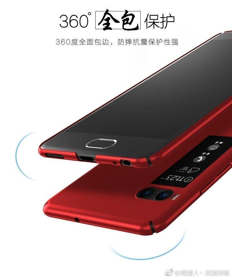 Çift Ekranlı Yeni Telefon Göründü: Meizu Pro 7