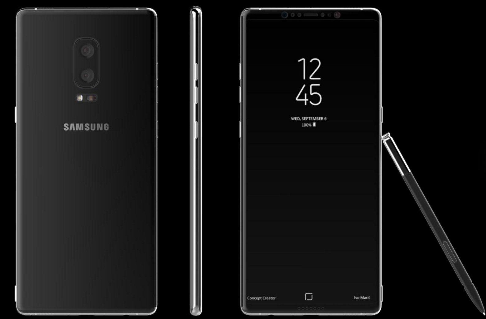 Samsung Galaxy Note 8 Çok Pahalı Olabilir!