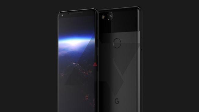 Google Pixel 2 XL'yi Gösteren Sızıntı!