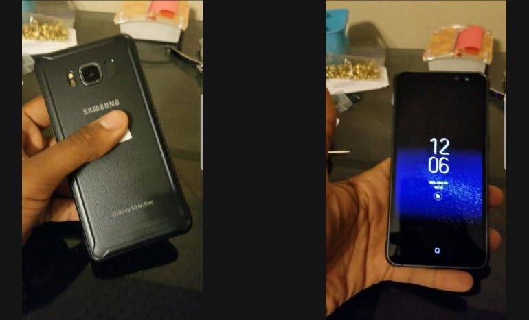 Galaxy S8 Active'den Gerçek Fotoğraf Sızıntısı!