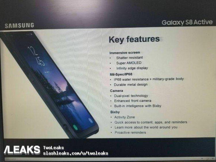 Samsung Galaxy S8 Active Tamamen Göründü!