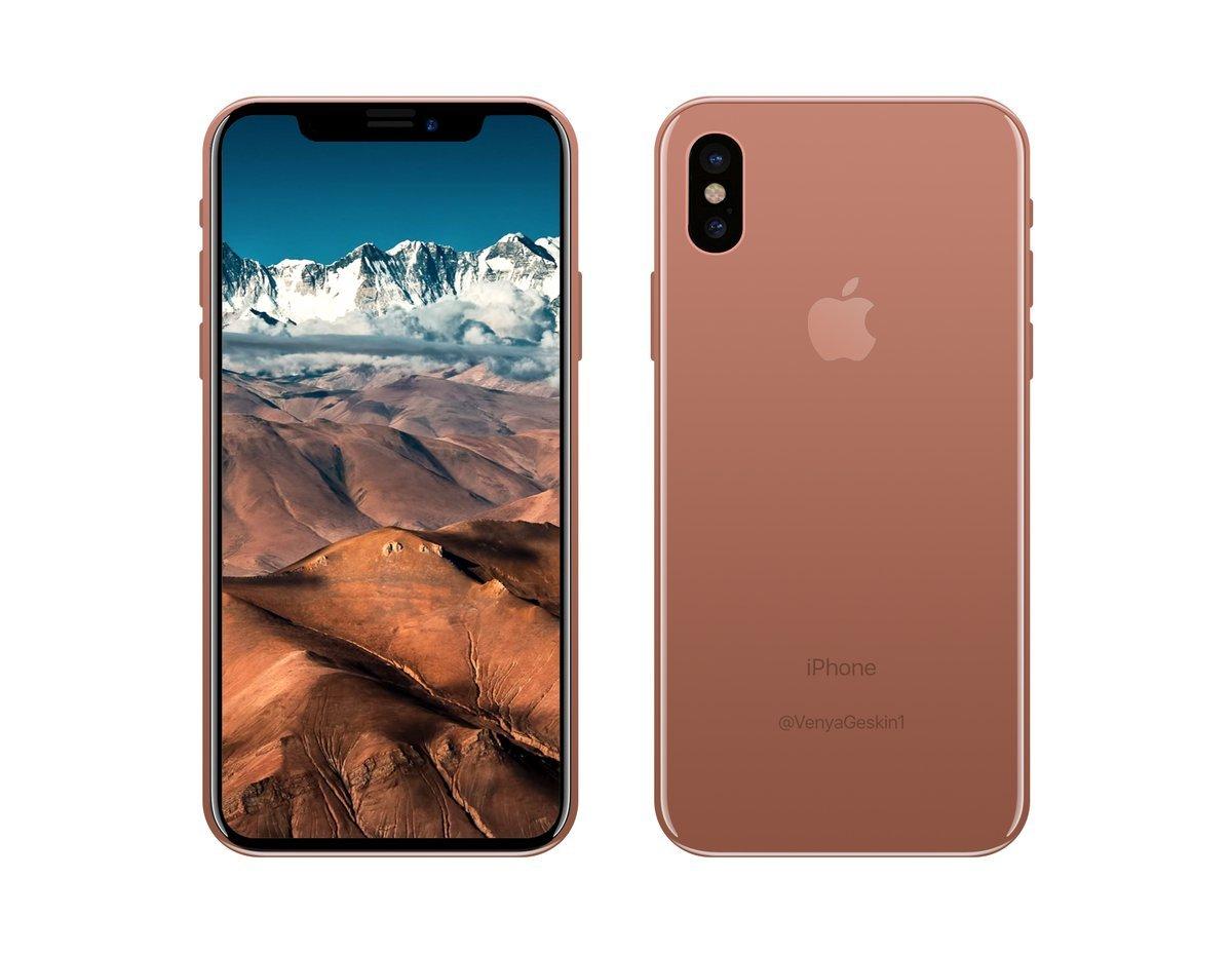 iPhone 8'den Bir İlk Daha Gelebilir!