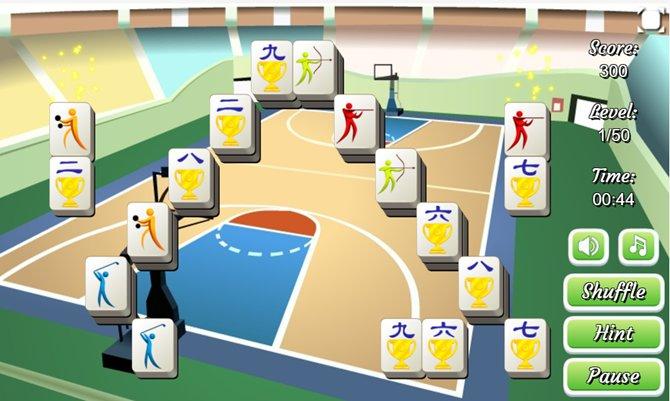 6. Sports Mahjong