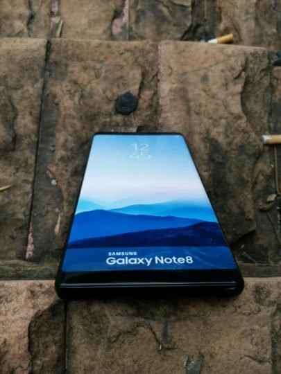 Galaxy Note 8'in Maketi de Sızdı!