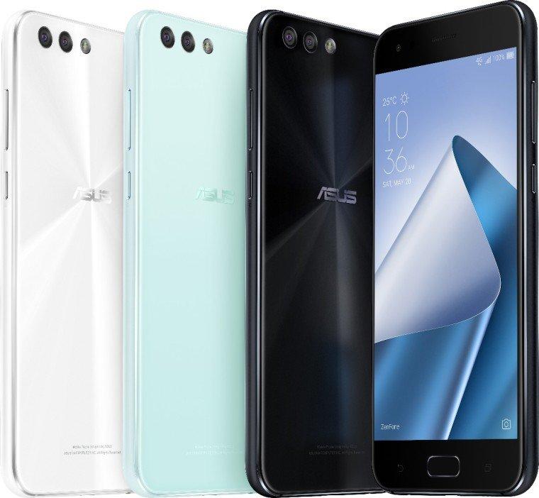 Asus, ZenFone 4 Ailesini Dünya ile Tanıştırdı